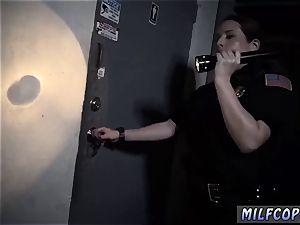 fledgling sixty nine fellatio moist video seizes police porking a deadbeat parent.