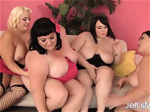 Fatties Erin Green, Alexxxis Allure Get it on