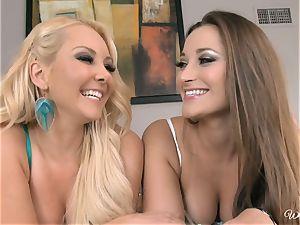 Dani Daniels and Aaliyah love nude dame on gal