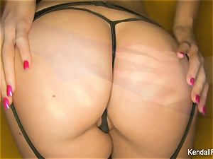 supah wonderful Kendall teases the camera in underwear