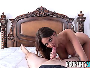 PropertySex French stunner Anissa Kate screws Homeowner
