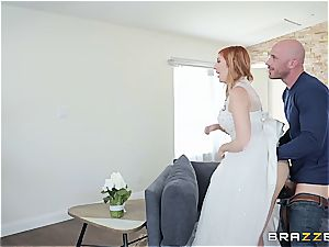 kinky bride just wants to have one last fling