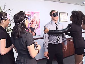 Getting horny in the office part 1