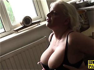 Facefucked round victim drooling all over jizz-shotgun