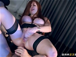 Veronica Vain is pounded by a spectacular vampire penis