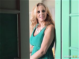 Julia Ann gets a cop in on her mischievous threeway