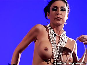 Jessica Jaymes solo masturbation super-steamy sequence