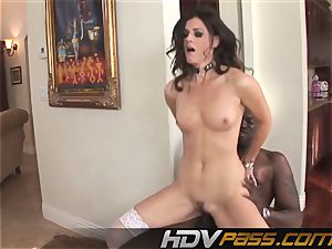 HDVPass multiracial fuck-a-thon with India Summers