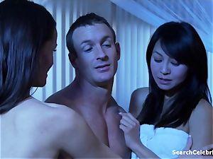 Christine Nguyen & Raven Alexis - handsome Wives Sinsations