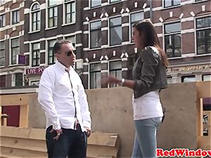 Doggystyled dutch call girl pussyfucked by tourist