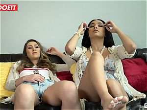 LETSDOEIT - ultra-kinky schoolgirls Scam Rich stud For Rent Money