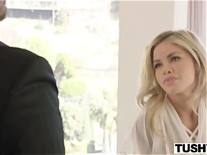 TUSHY Jessa Rhodes strenuous and torrid ass-fuck With Driver