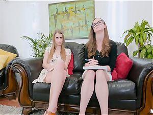 horny lezzie weenie deepthroating Jay Taylor and Jill Kassidy