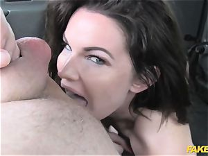 faux cab gigantic bumpers and stellar eyes takes man meat