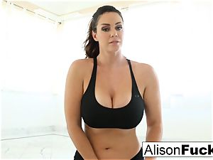 Alison Tyler works a fuck stick