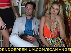 SCAM ANGELS - american stunners nail plow fellow in scorching FFM