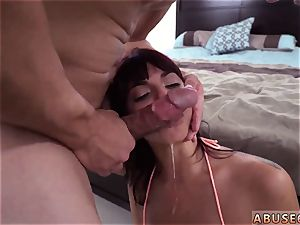 Maid disciplined with vibrator and euro tough dual He pummeled her rear entrance until it