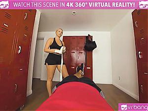 VRBangers.com warm honey perspiring plumbing Her Boxing Coach