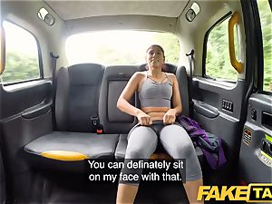 fake taxi Sahara gets a rock-hard rod workout