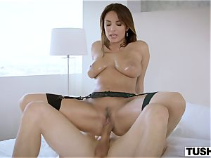 TUSHY magnificent French girl likes anal