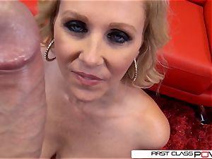 Julia Ann is one well seasoned weenie throating professional