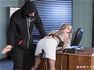 Karma Rx takes vulva boinked in the office