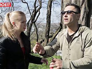 LETSDOEIT -pervert fellow Tricks steamy blond Tourist Into hookup