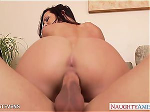 sexy Jada Stevens gets plumbed and facialized
