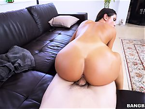 August Ames railing in switch sides cowgirl