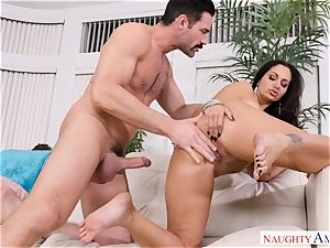 Ava Addams fucked on the couch