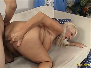 grandma Mandy McGraw seduces boy