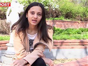 LETSDOEIT - kinky teenager luvs caressing Her joy button to ejaculation