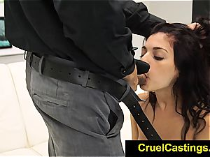 marvelous Gina Valentina restrained and dominated