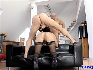 assfucked erotic european mummy nutted on booty