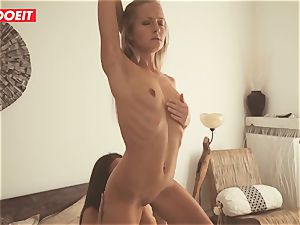LETSDOEIT - Breakfast in couch For red-hot girl-on-girl babes