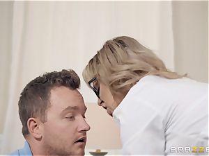 Cherie Deville loves frolicking medic