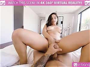 VR pornography - chesty Abella Danger audition couch get wild