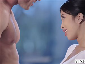 VIXEN youthfull japanese student Has passionate hump With Neighbor