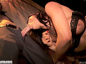 Romi Rain - epic molten amateur porn in the street