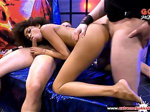mexican hottie Luna Corazon takes it hard in Germany