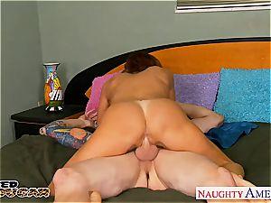 big-boobed mummy Tara Holiday fucking