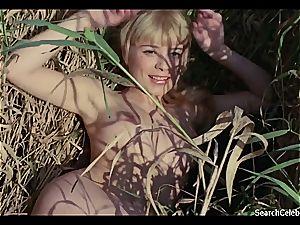magnificent Ingrid Steeger makes her twat perceives killer