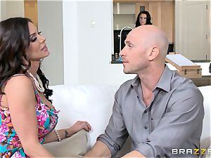 Kendra lust and Peta Jensen share their fellow