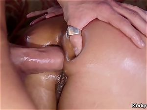 Alt gf with bf ass-fuck fucking his step mother