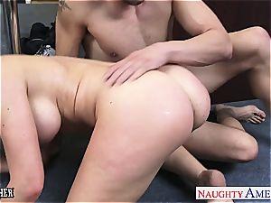 buxomy intercourse teacher Veronica Avluv fuckin'