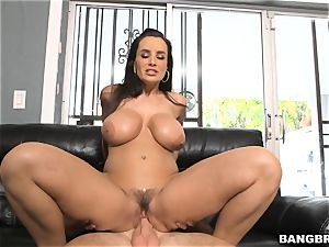 Lisa Ann heads on a long ride