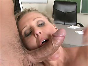 Julia Ann is a hardcore cougar who wants to put her cooter on a rock-hard man sausage