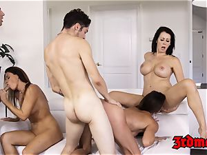 milf Mercedes Carrera riding trunk passionately in fuck-a-thon