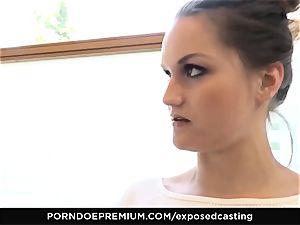 exposed casting - Barbara Bieber fucks porno casting