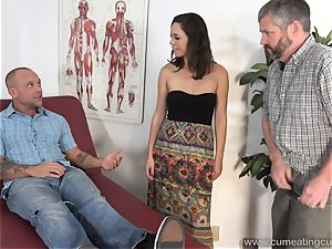 Jade Nile Has Her spouse fellate pink cigar and witness Her